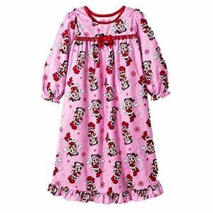 B2G1 Disney Minnie Mouse X-mas/Holiday Nightgown